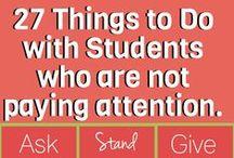 Éducation - attention