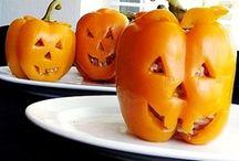 Boo Food. / Halloween food and treats.