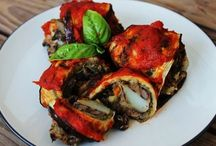 Italian and other European food / European inspired vegan dishes / by Abigail Wilcoxon