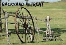 Backyard Retreat / Ways to decorate your yard