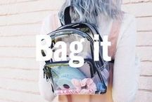 Bag It / Take a look at what bags, rucksacks and clutches we love at UO Europe.