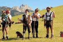 Almabtrieb im Tannheimer Tal / Der Almabtrieb im Tannheimer Tal gehört zu den schönsten Tirols.