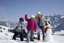 Winterwandern / Eine Winterwanderung mit der Familie im Tannheimer Tal ist einfach nur schön