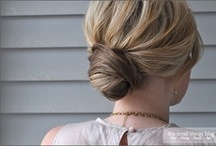 Coiffures / Hairdos to try