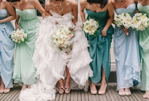 Wedding Inspirations  / Inspiration for color schemes, dresses, photo op's and more... take a minute to take it all in * / by Lauren Ashley