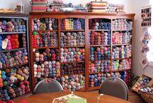 Yarn Store(age) / by Mandy Stevens