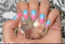 nail art dégradé