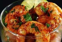 I Love Shrimp and Scallops / Even though I really-really love seafood, Shrimp and Scallops are my favorite of all. Now that I've taken up learning to cook at this late moment, I seek out the best recipes involving my favorite foods. So even though I may have pinned these elsewhere, this board is all about Shrimp and Scallops.