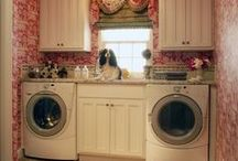 Getting Down & Dirty / Laundry Rooms. If you must do laundry do it in style