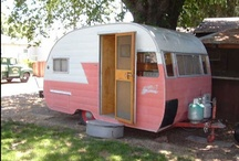 "Trailer Love / I adore ""egg"" and old vintage ""Canned Ham"" trailers, and am becoming interested in trailer life. Someday I shall hit the road!"