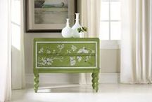 Green with Envy / From Emerald to Leafy Green....a few hues that caught our eye!