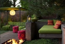 OUTDOOR Spaces / Relaxing and entertaining outside continues to grow in importance.....here are some spaces we love!