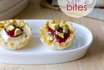 Food: Hors D'oeuvres / by Sarah Garland (Thought on a Roll)