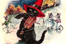 Halloween Cats / Crafts, Ideas and Resouces