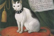 Renaissance Cats / You say crazy cat lady like it's a new thing