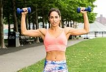 Arms & Shoulder Workouts / Exercises to tone, firm, and strengthen your arms and shoulders