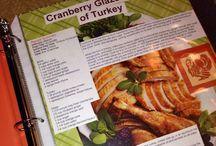 Family Cookbook Scrapbook