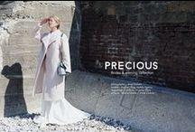PRECIOUS / « Precious » : Précieux, comme un lien invisible qui se tisse avec les pièces que l'on porte. C'est également quelque chose de sincère, passer des heures à imaginer et fabriquer quelque chose de spécial, rien que pour vous.