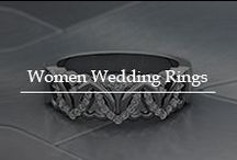 Women Wedding Rings / Get enchanted by the artistic women wedding rings adorned with excellent quality diamonds in incredible designs to mark your big day.