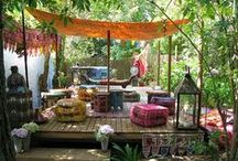 a lovely bit of earth / garden & outdoor spaces / by ErinHope Raycroft
