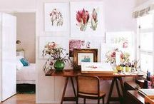 Home Art Studio Ideas / by Amy Woods Watercolors