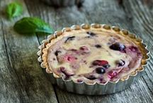 Sweet Pies, Tarts & Galettes / Crusts - rustic or trimmed - filled with fabulousness.