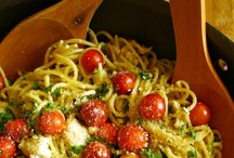 """Pasta Dishes / """"Life is a combination of magic and pasta."""" --Federico Fellini"""