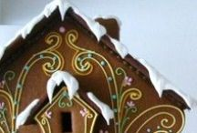 Glitter Houses, Gingerbread & Christmas Villages, Oh My! / My obsession with everything village!   / by My Momma Told Me  |  Kristen