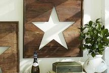 Primitive/Americana Decorating / See more at http://numberfiftythree.blogspot.com/