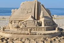 Sand Castles / Building a sand castle is buckets of fun, so why not make a few with your kids at the beach this summer while vacationing on Cape Cod?