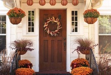 Fall Front Porches / Warm, sunny days…cool nights…crowds gone…fall has arrived on the Cape and Islands. One of my favorites things about is fall is front porch decorating... the pumpkins, the mums, the gourds...just love the harvest  inspired displays! / by WeNeedaVacation.com Cape Cod