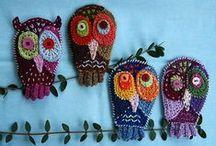 Owl love / Gorgeous owl inspiration