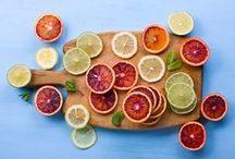 Citrus, Lemons, Limes, Oranges & Grapefruits / Lemons, Limes, Oranges, Grapefruits... Tart, fragrant spritzes of citrusy sunshine make everything better!