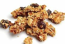 Nuts & Granola Recipes / Recipes and ideas for Nut and Granola lovers!