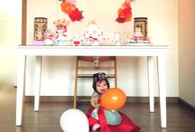 Dream Dol Party / The traditional Korean first birthday party, called the Doljanchi, is a serious celebration!  Traditional costumes, tables overflowing with fresh fruit and rice cakes, and a special custom where the baby chooses her future profession!  Here's my collection of the most fabulous dol party ideas on the web!  / by My Momma Told Me  |  Kristen