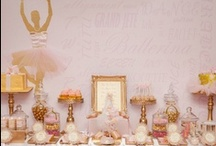 Pink & Gold Ballerina Baby Shower / Combining two of my favorite themes for my big sister's baby shower coming in October!   / by My Momma Told Me  |  Kristen