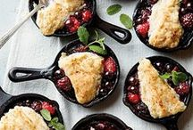 Cobblers & Crisps / Recipes and ideas for Cobblers and Crisps!