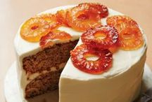 Let Them Eat FRUITED Cake! / Cakes filled, accented and flavored with all kinds of fabulous fruit!