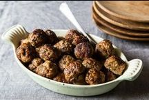 Meatball Madness / Recipes and lots of love for the variety of flavors that #meatballs add to our favorite dishes.