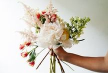 Floral Recipes / The flora ingredients for creating designer look bouquets and arrangements! DIY style....