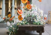 Industrial chic wedding inspiration  / Chic, minimalist, a whole lot of cool edgy style.... Love!