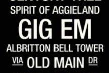 Gig 'Em!! / Texas A&M Aggies! / by Kayla Eckhardt
