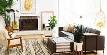 Bright Boho Modern / Clean / Airy / White / Light / Jungalow / Midcentury / Modern / Granny Chic