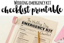 Wedding Printables / Download and print our FREE, super cute and easy to DIY Wedding Printables.