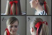 Work that updo!! Flaunt that ponytail! / by Adriana Boekestyn