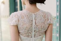 Lace Back Wedding Gowns / Lace backed wedding gowns - delicate wedding dresses with gorgeous lace backs.