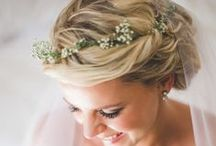 *Wedding Hair & Wedding Make-Up / Wedding hair style inspiration, bridal beauty tips and wedding make up.