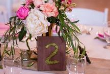 *Table Numbers & Names {Wedding} /  ♥ ♥ ♥  WEDDING TABLE NUMBERS and NAMES Ideas  for your Big Day ♥ ♥ ♥