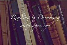 My Bookshelf & fictionworld / The places I travel when I read  / by Brandi Edwards (ATraveler'sThoughts)