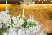 Wedding Tablescapes + Wedding Place Setting Ideas / A collection of stunning wedding table settings, and absolutely gorgeous wedding tablescapes for your wedding reception. Get ideas for indoor wedding tablescapes and outdoor wedding receptions - including individual guest seating settings too.